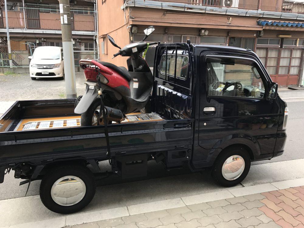 大阪市西淀川区まで不動のスズキZZをお引き取り!